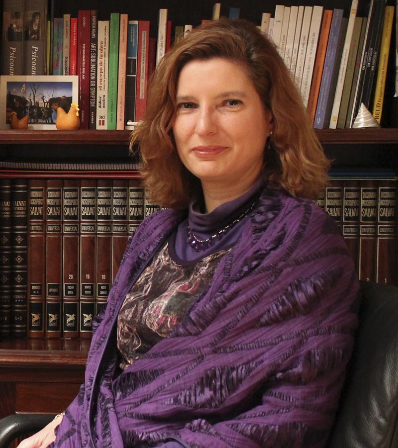 Mercedes Puchol psicóloga clínica, psicoterapeuta y psicoanalista en Madrid