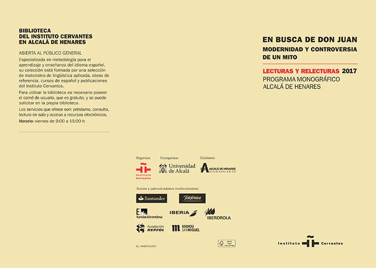 Conferencia sobre el mito de Don Juan de Mercedes Puchol
