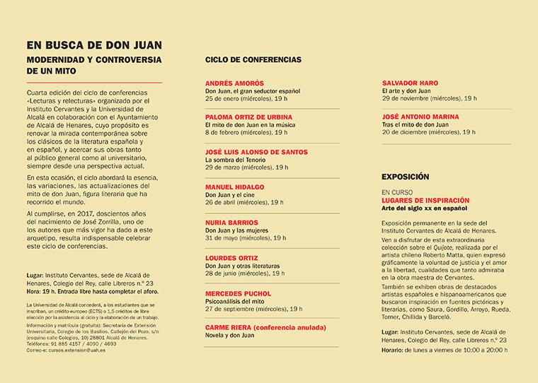 Conferencia de Mercedes Puchol sobre el mito de Don Juan